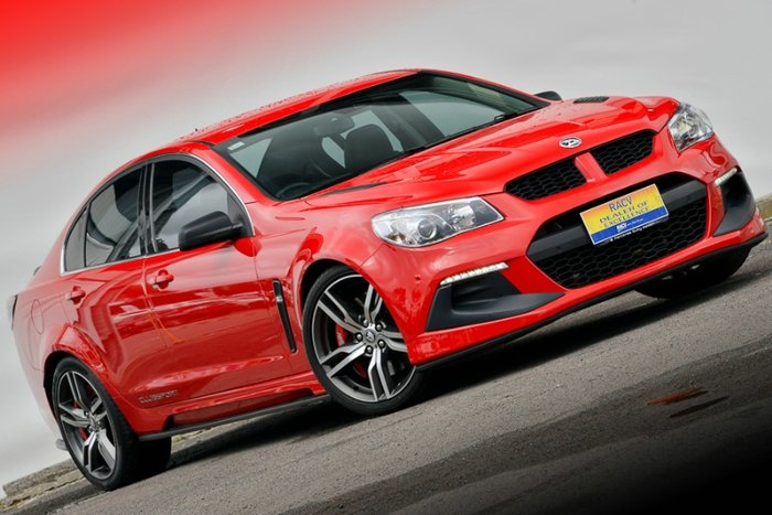 2015 HOLDEN SPECIAL VEHICLES CLUBSPORT R8 LSA GEN-F2 MY16 RED