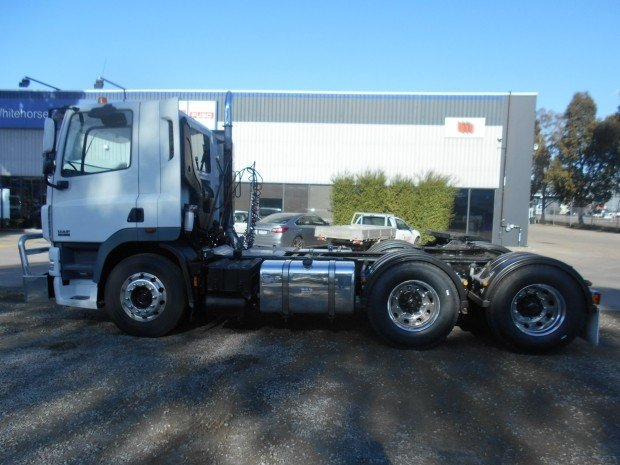2009 DAF CF 85 Series WHITE