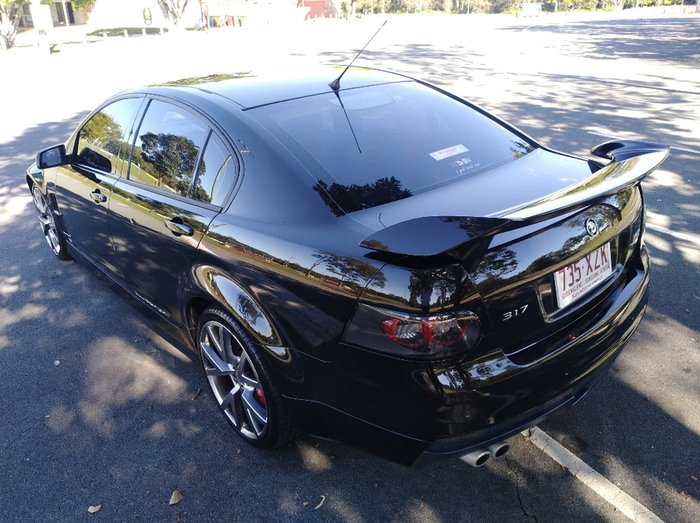 2009 HOLDEN SPECIAL VEHICLES CLUBSPORT R8 E Series Black