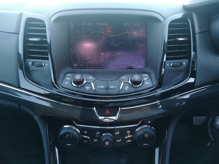 2014 HOLDEN COMMODORE SS Storm VF White