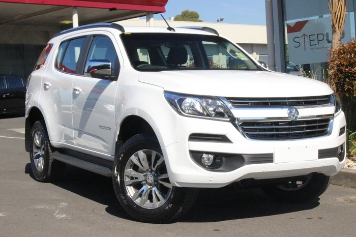 2017 HOLDEN TRAILBLAZER LTZ RG White