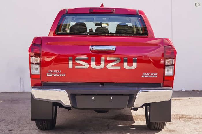 2018 ISUZU D-MAX LS-U (No Series) Red