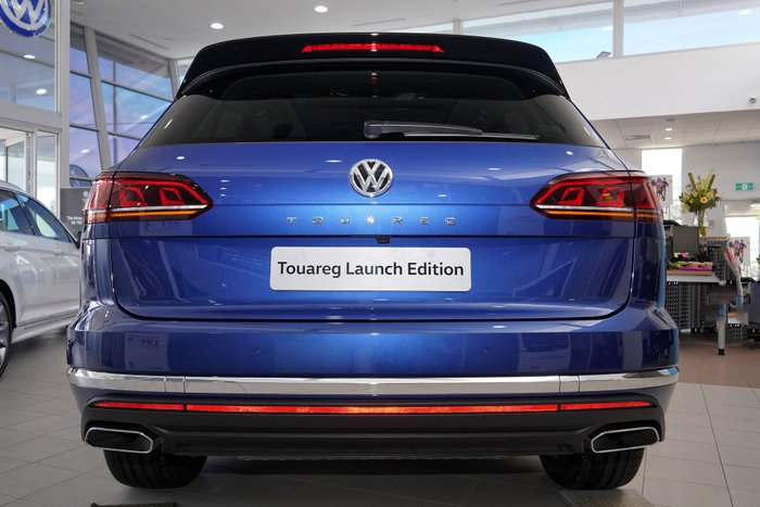 2019 Volkswagen Touareg Launch Edition 190TDI 3.0L 190kW 8A Wagon 4WD Reef Blue Metallic