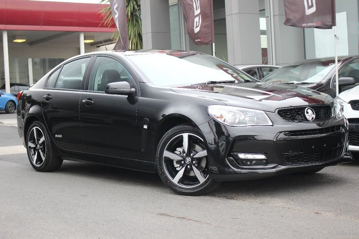 2016 HOLDEN COMMODORE SV6 Black VF Series II Green