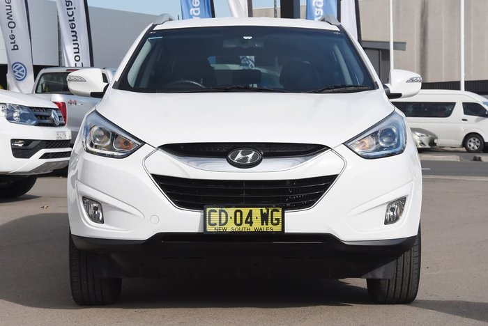 2015 HYUNDAI IX35 Elite Series II White