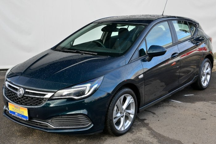 2017 HOLDEN ASTRA RS BK MY17 CARRAGREEN