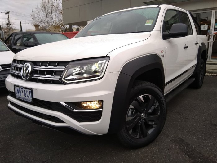 2018 VOLKSWAGEN AMAROK TDI550 Dark Label 2H White