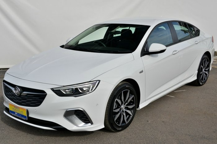 2017 HOLDEN COMMODORE RS ZB MY18 SUMMIT WHITE