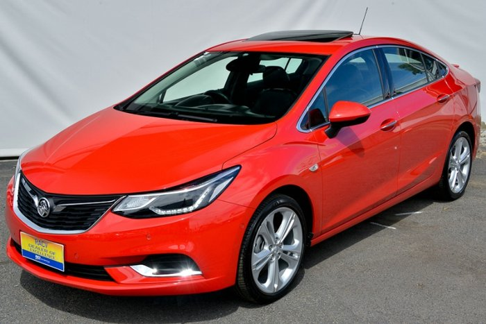 2017 HOLDEN ASTRA LTZ BL MY17 ABSOLUTE RED