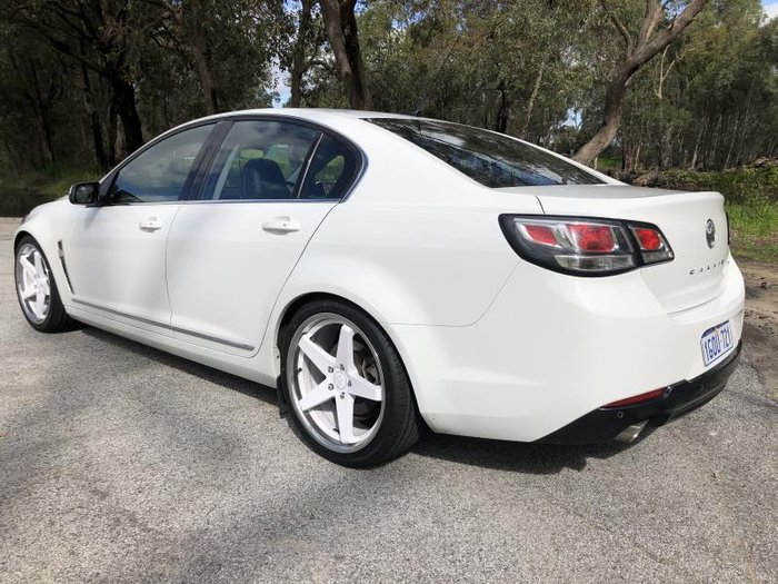 2016 HOLDEN CALAIS VF II WHITE