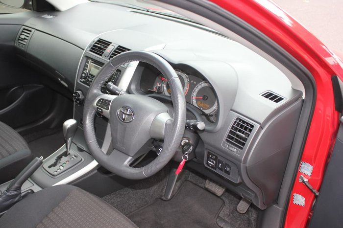 2013 TOYOTA COROLLA Ascent Sport ZRE152R Red