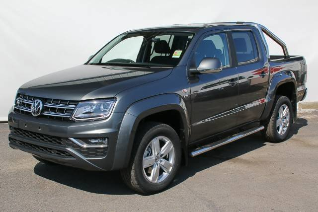 2018 VOLKSWAGEN AMAROK TDI550 HIGHLINE DUAL 2H MY18 INDIUM GREY