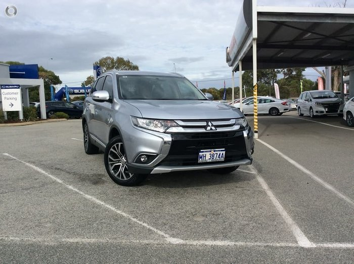2016 Mitsubishi Outlander LS ZK MY16 SILVER OR CHROME