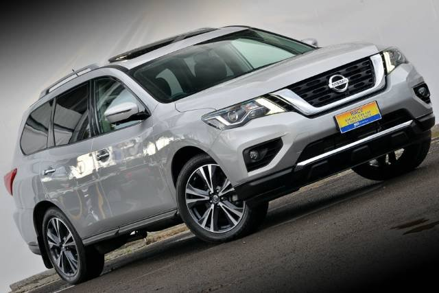2017 NISSAN PATHFINDER TI R52 SERIES II MY17 BRILLIANT SILVER