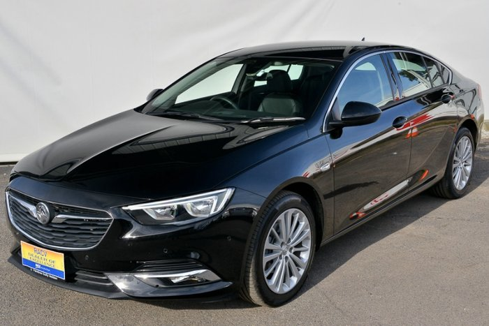 2018 HOLDEN CALAIS ZB MY18 MINERAL BLACK