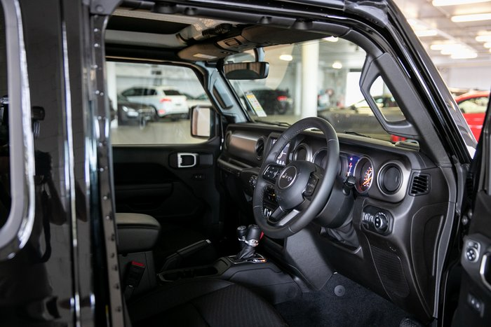 2019 Chrysler Wrangler Unlimited Sport S SPORT S UNLIMITED 3.6L Auto 4DR MY19 4WD Black