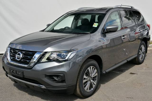 2018 NISSAN PATHFINDER ST R52 SERIES II MY17 GUN METALLIC