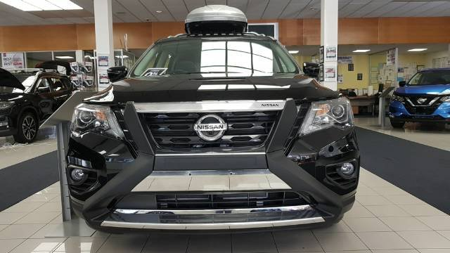 2018 NISSAN PATHFINDER ST-L R52 SERIES II MY17 DIAMOND BLACK