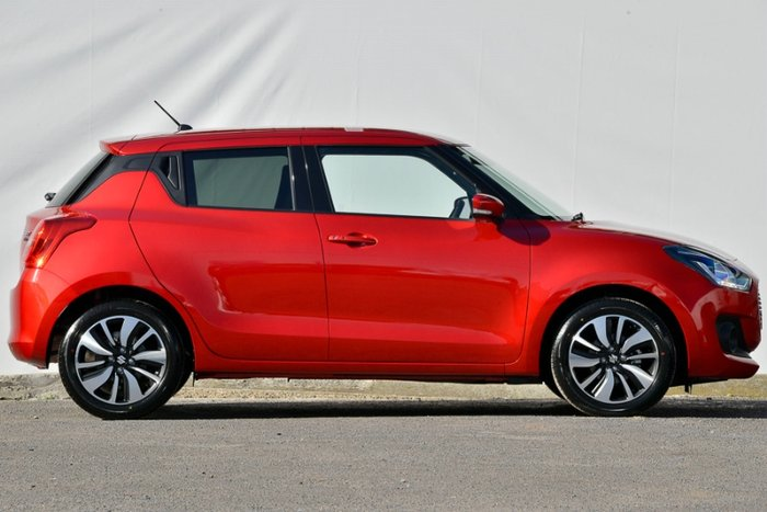 2018 SUZUKI SWIFT GLX TURBO AZ BURN RED
