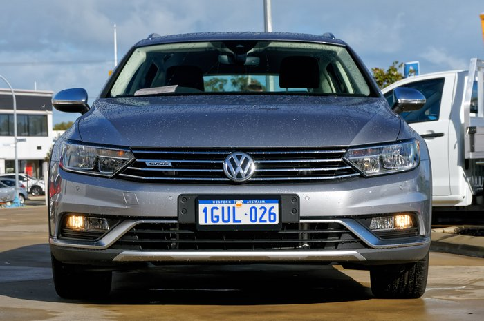 2018 Volkswagen Passat 140TDI Alltrack B8 MY18 Four Wheel Drive SILVER OR CHROME