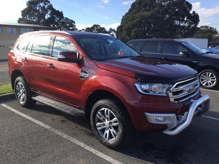2015 FORD EVEREST Trend UA Red