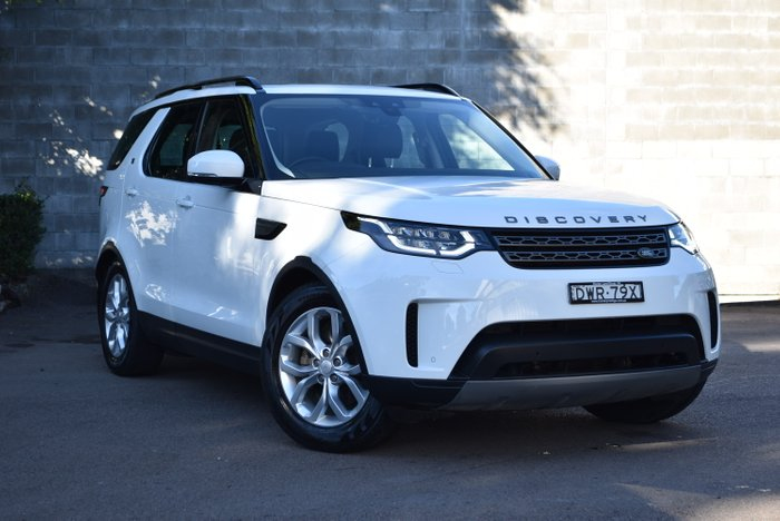 2018 Land Rover Discovery TD6 SE Series 5 MY18 4X4 Dual Range WHITE