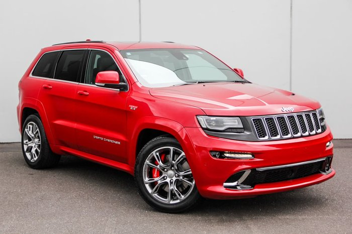 2014 JEEP GRAND CHEROKEE SRT WK Red