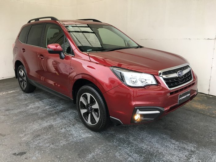 2018 SUBARU FORESTER 2.5i-L S4 Red