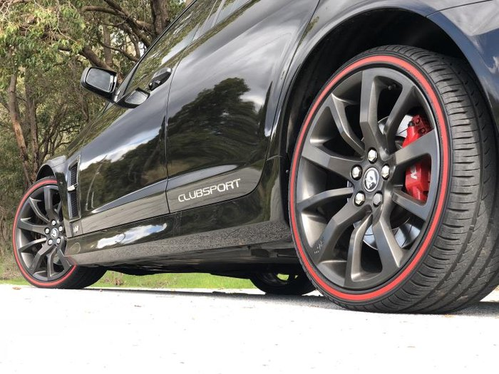 2012 HSV CLUBSPORT R8 E3 MY12 BLACK