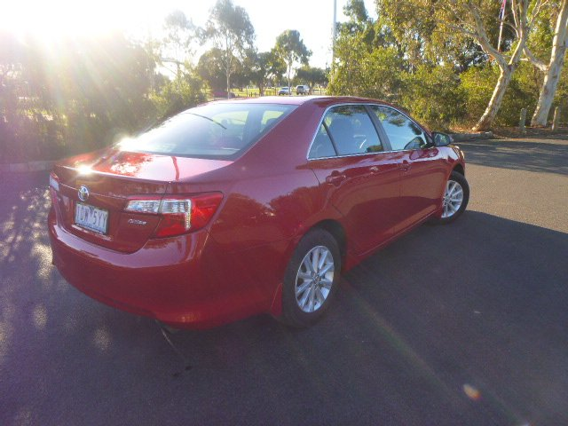 2014 TOYOTA CAMRY Altise ASV50R Red