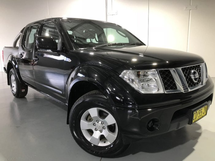 2014 NISSAN NAVARA Silverline SE D40 Series 9 Black