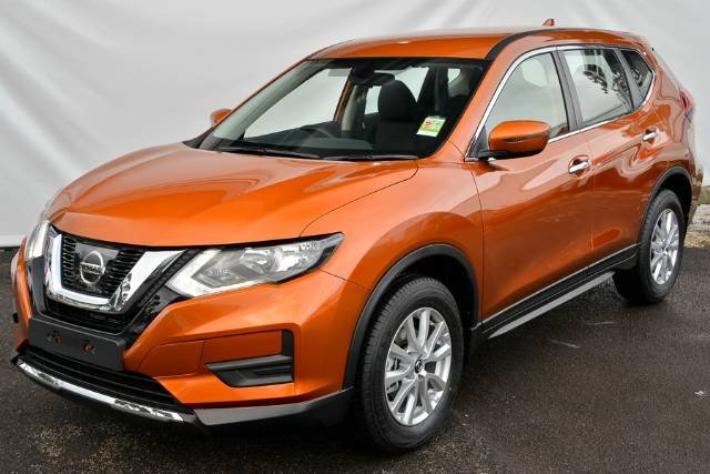 2018 NISSAN X-TRAIL ST T32 SERIES II COPPER BLAZE