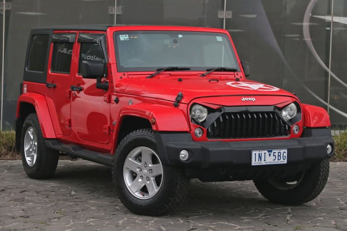 2015 JEEP WRANGLER Unlimited X JK Red