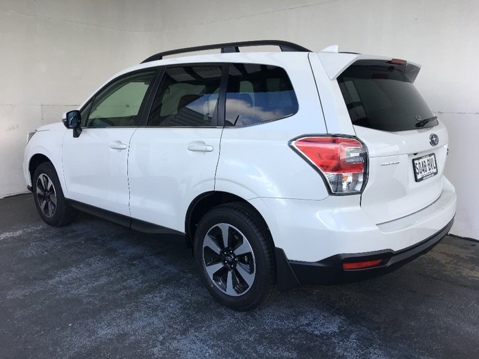 2018 SUBARU FORESTER 2.5i-L Luxury S4 White