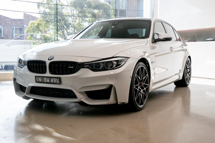 2018 BMW M3 Competition F80 LCI WHITE