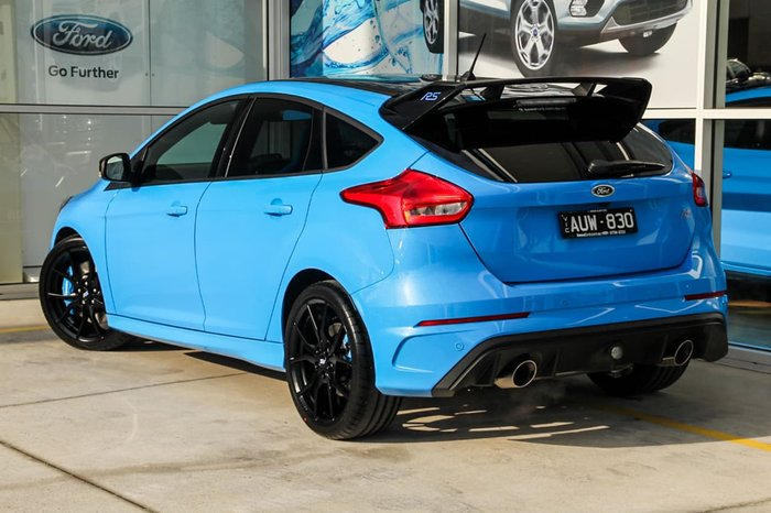 2018 FORD FOCUS RS Limited Edition LZ Blue