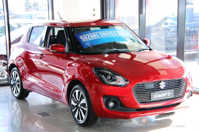 2018 SUZUKI SWIFT GLX Turbo AZ Red