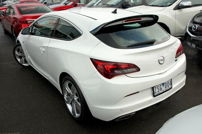 2012 OPEL ASTRA GTC Sport AS White