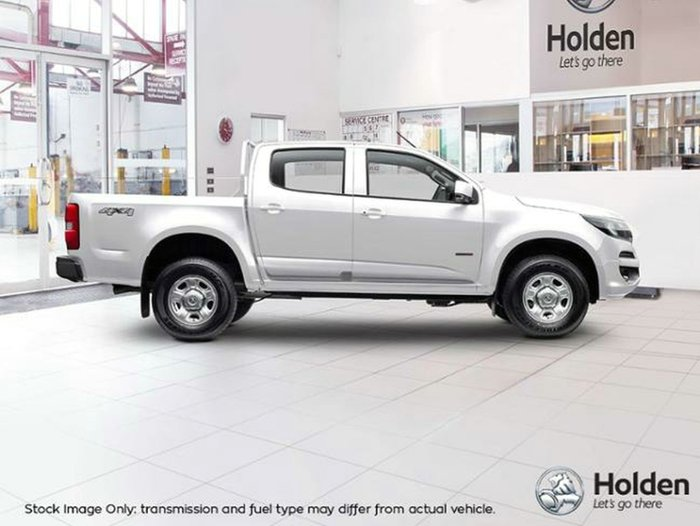 2018 HOLDEN COLORADO LS DUAL CAB RG MY19 SUMMIT WHITE