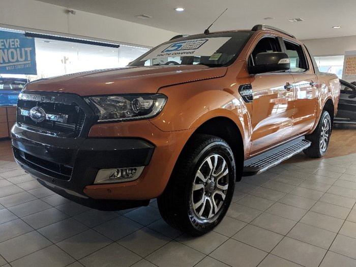 2018 FORD RANGER Wildtrak PX MkII Orange