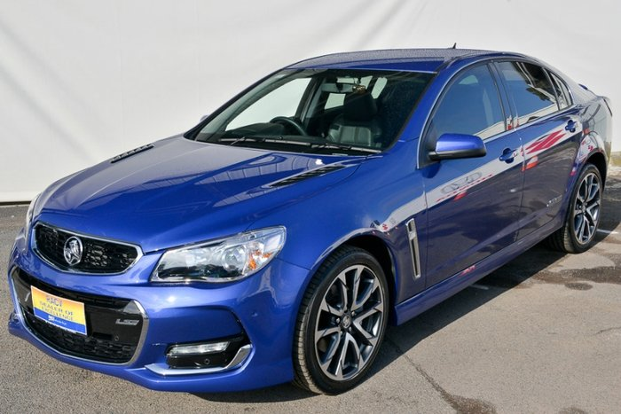 2016 HOLDEN COMMODORE SS V VF II MY16 BLUE