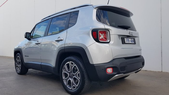 2016 JEEP RENEGADE Limited BU Silver
