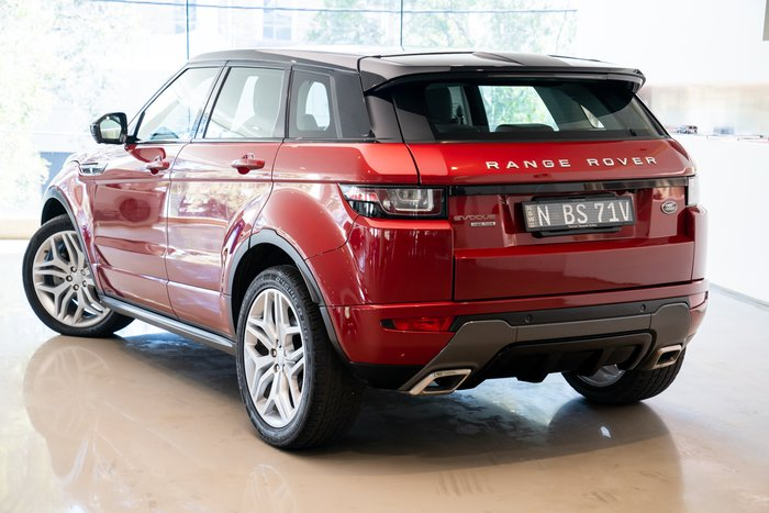 2015 Land Rover Range Rover Evoque TD4 180 HSE Dynamic L538 MY16 4X4 On Demand RED