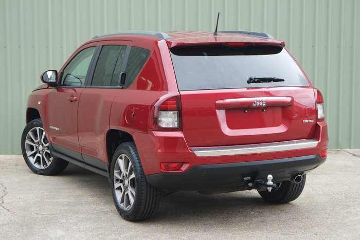 2016 Jeep Compass MK MY16 RED