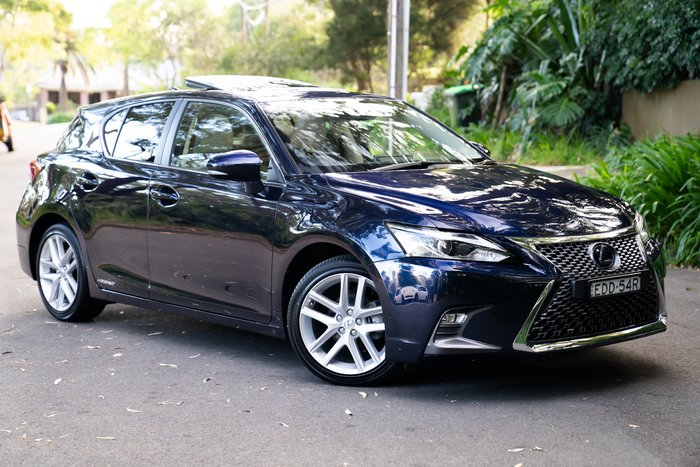 2019 Lexus CT CT200h Sports Luxury ZWA10R DEEP BLUE