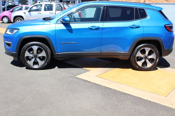 2018 Jeep Compass Limited M6 MY18 4X4 On Demand HYDRO BLUE-PEARL COAT
