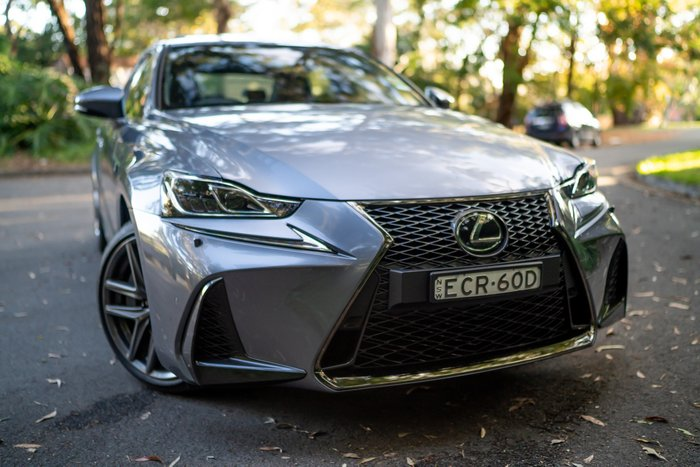 2019 Lexus IS IS300 F Sport ASE30R MERCURY GREY