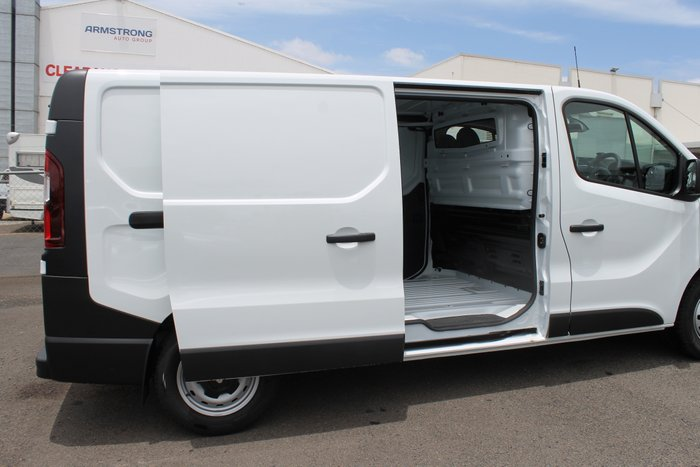 2019 Renault Trafic Crew Lifestyle X82 Glacier White - Solid