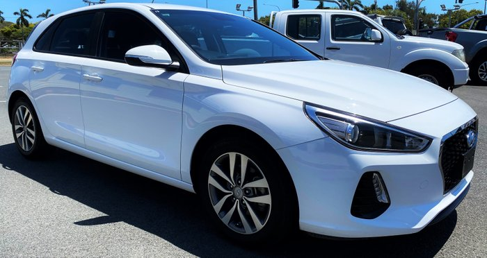 2017 HYUNDAI I30 Active PD MY18 Active Hatchback 5dr Man 6sp 2.0i WHITE