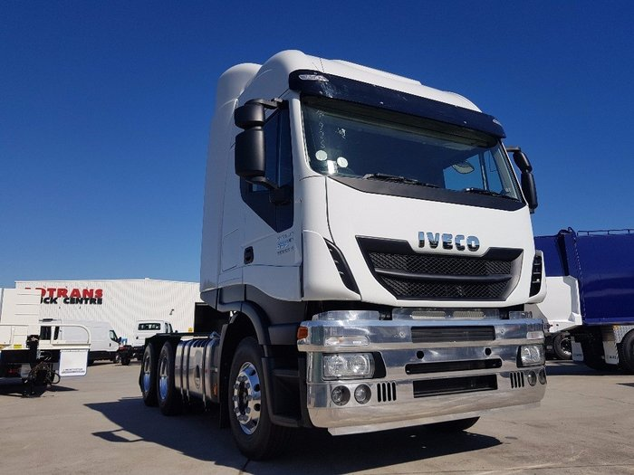 2018 Iveco Stralis AS-L 560hp 6x4 Cab Chassis white
